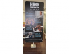 Rotating X Banner Stand