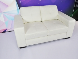 White Loveseat
