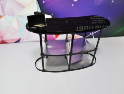 Pop Up Curved Counter with iPad Mount