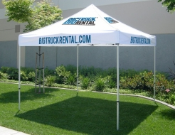 10' Tent with 8 Imprints