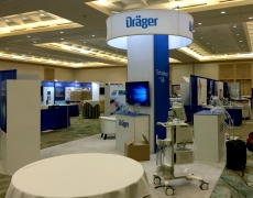 Draeger Medical 20' x 20' Custom Booth