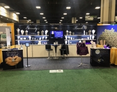 Eternity's Touch 10'x 20' Custom Booth with Shelving, Internal Lighting and 2 Custom Counters