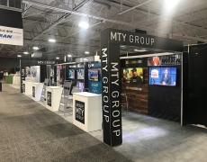 MTY 10' x 20' Display with Vinyl Graphics