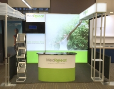 MedReleaf 10' Backlit Fabframe Display