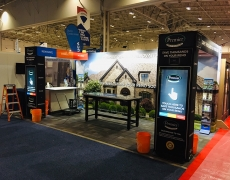 Premier Quality Home Renovations 20' Fabframe Display