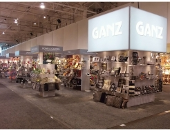 Ganz 60' Custom Backlit Shelving Display
