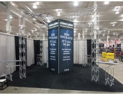 Riders Plus 20'x20' Truss Display with Custom Tower