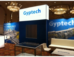 Gyptech 30' Custom Backwall with Backlit Header