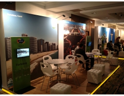 Brazil Tourism Custom Meeting Spaces & Touch Screen Monitors