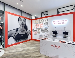 Nike Custom Store Display