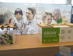 Phonak 10' x 20' Backlit Fabframe Display
