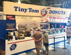 Tiny Tom Donuts Custom CNE Display