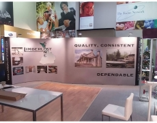 20' Curved and Straight Pop Up Displays - Vinyl Graphics