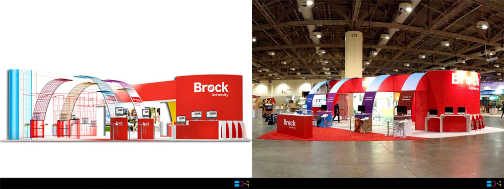 Brock University - Rendering to Live Display