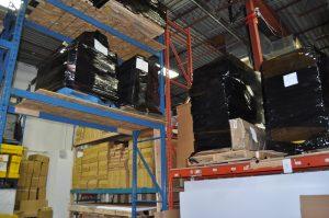 Trade Show Storage in Winter