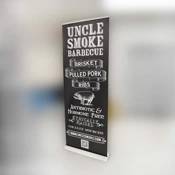 Retractable Banner Stands Portable Amp Roll Up Trade Show