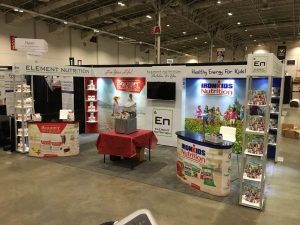 Element Nutrition Trade Show Booth