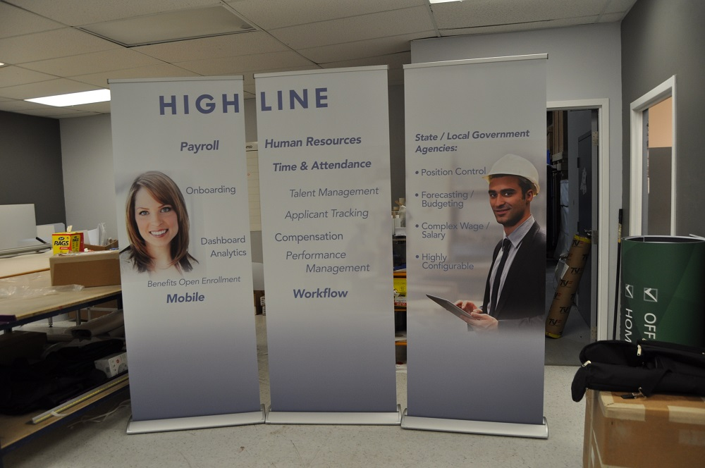 Exhibition Stand Evaluation : High line banner stands best displays