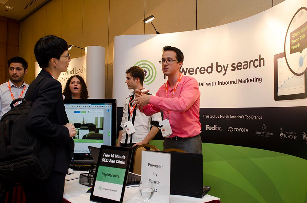 Powered By Search At Ses Toronto 2013 Best Displays