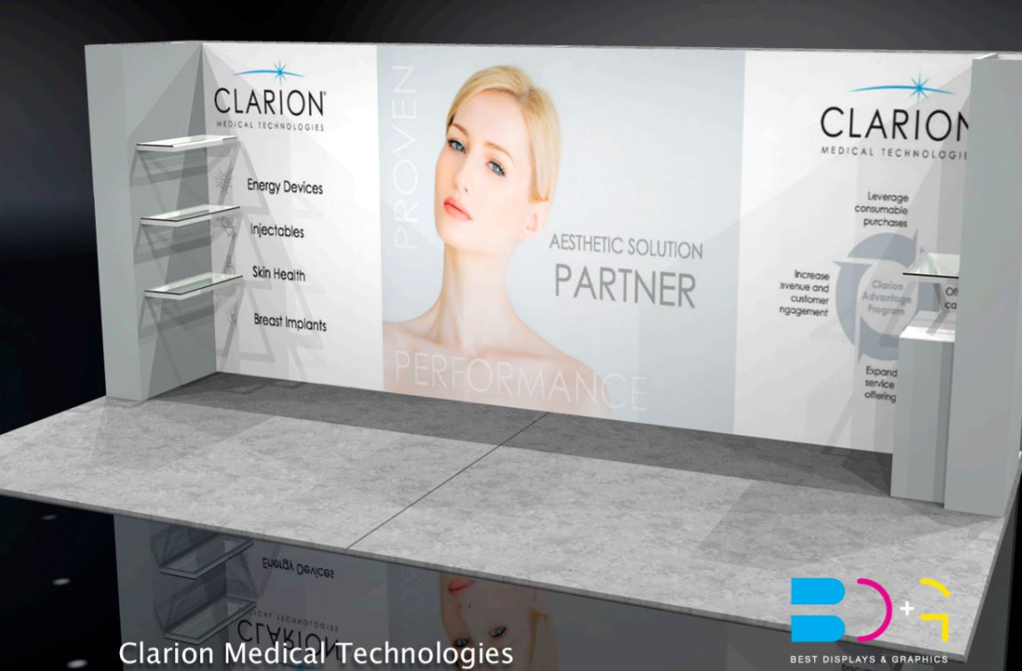 Trade Show Booth Objectives : Trade show display client feature from best displays graphics