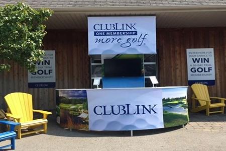 Clublink – Outdoor Display