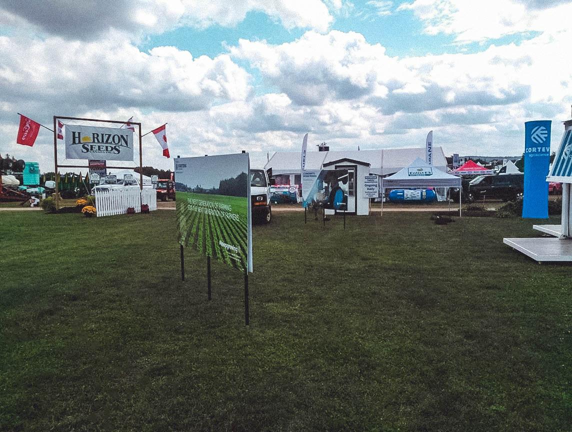 trade shows tents Canada