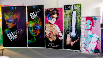 BDG's Banner Stands